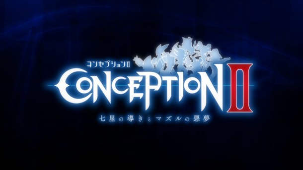 Conception 2 Title Screen