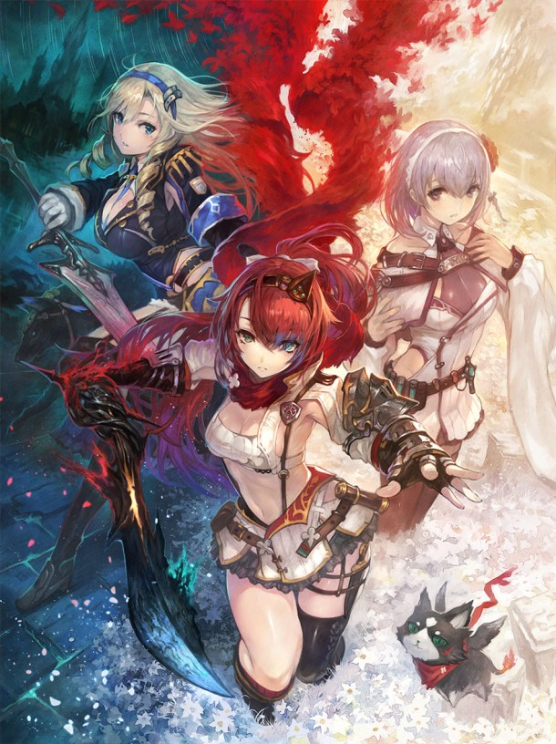 Nights of Azure 2 | Key Art