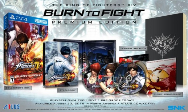 King of Fighters XIV | Burn to Fight Edition