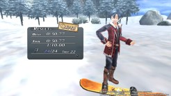 Trails of Cold Steel II | Snowboarding Result Screen