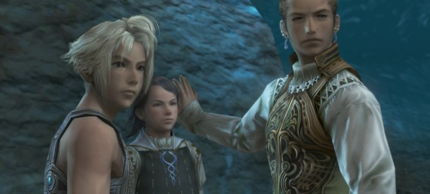 Final Fantasy XII: The Zodiac Age | Vaan and people