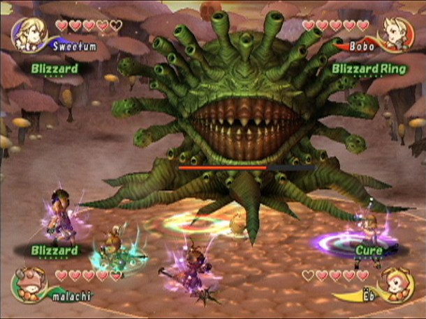 Final Fantasy Crystal Chronicles Countdown Screenshot 1