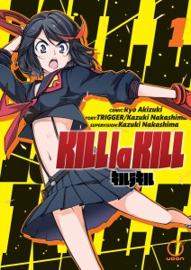 Kill la kill manga | cover