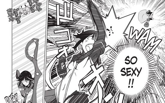 Kill la Kill Manga | sexy