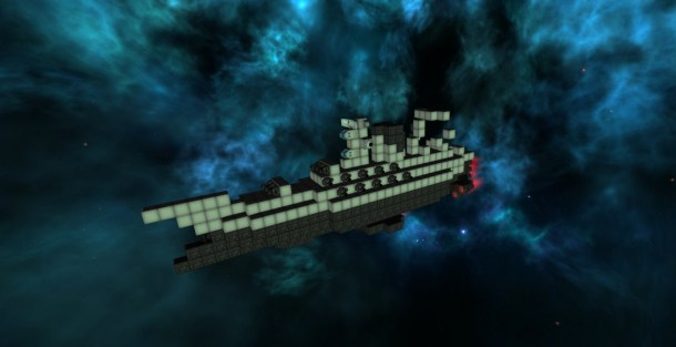 Lightspeed Frontier | Space boat