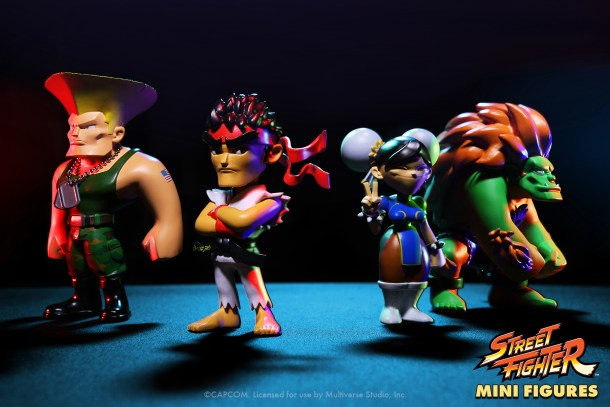 street fighter mini figures