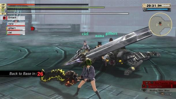 God Eater 2 Rage Burst   Dead Aragami
