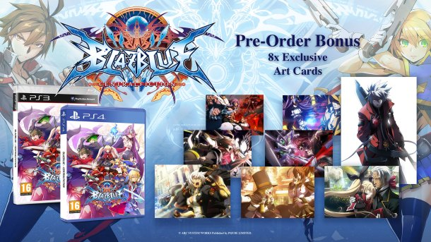 BlazBlue Centralfiction | EU Pre-Order Bonus