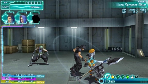 Countdown to Final Fantasy XV | Crisis Core Final Fantasy VII Screenshot 2