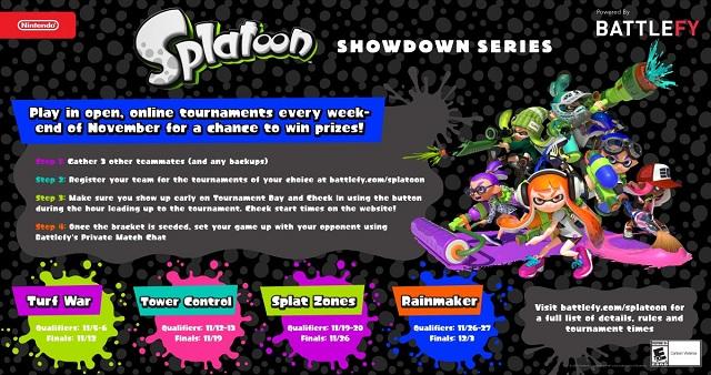 Splatoon Showdown Series