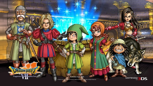 Dragon Quest VII | Characters
