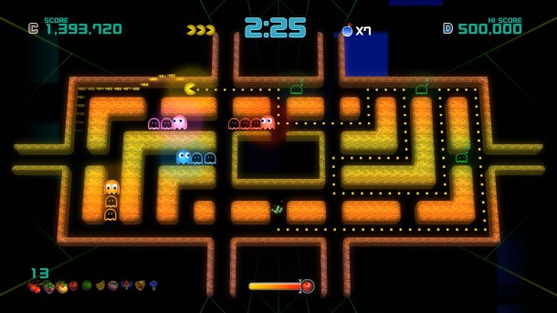 Pac-Man Championship Edition 2 | Dungeon stage