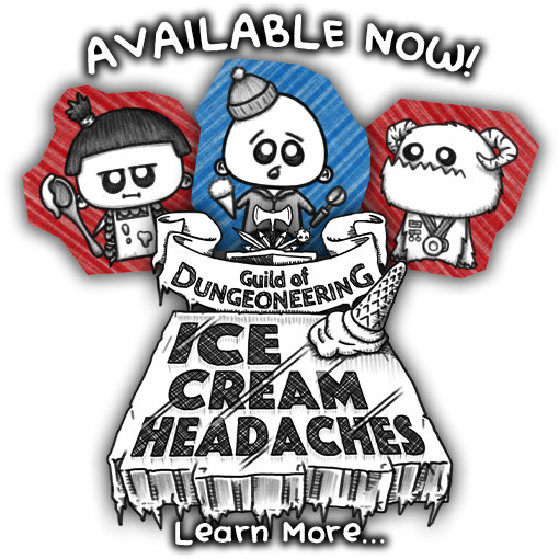 REVIEW: Guild of Dungeoneering - Ice Cream Headaches