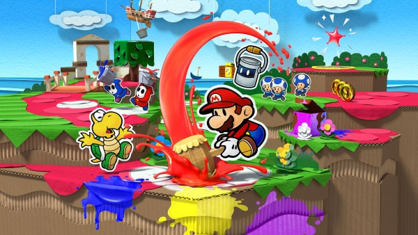 Extra Life | Paper Mario Color Splash