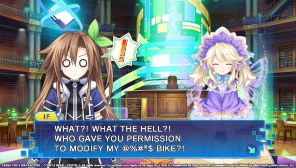 Superdimension Neptune Vs SEGA Hard Girls | Iffy's Bike