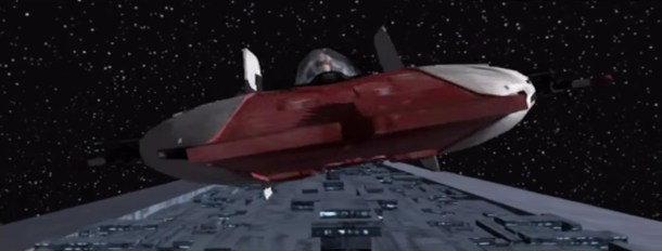 Even that time you crash into the Executor could maybe have been better...