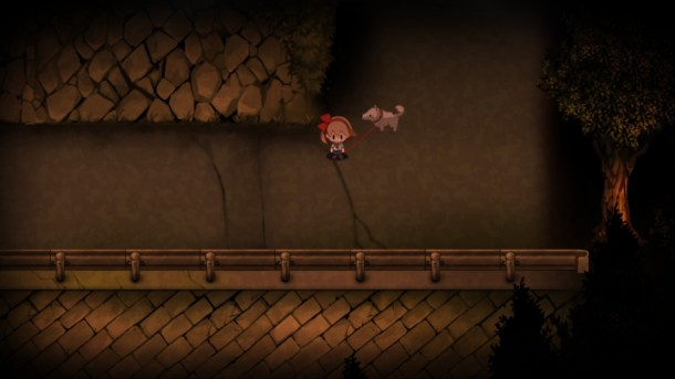 Yomawari: Night Alone | Walking Poro