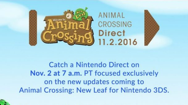 Animal Crossing Direct