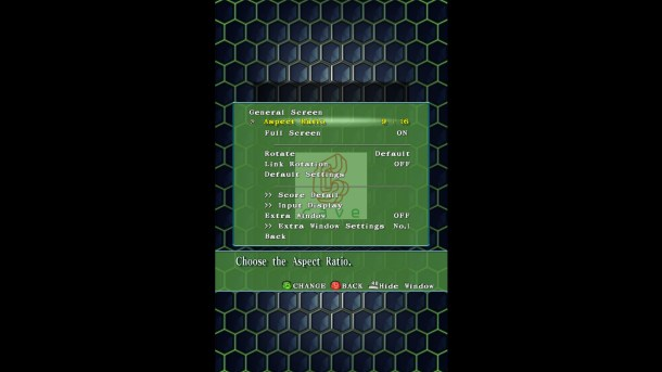 DoDonPachi Resurrection   Screen Ratio
