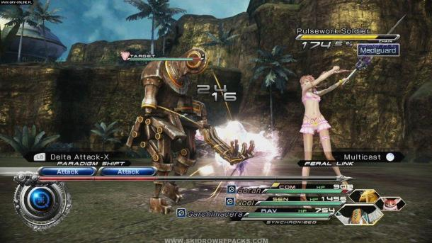 Countdown to Final Fantasy XV | Final Fantasy XIII-2 Screenshot 4