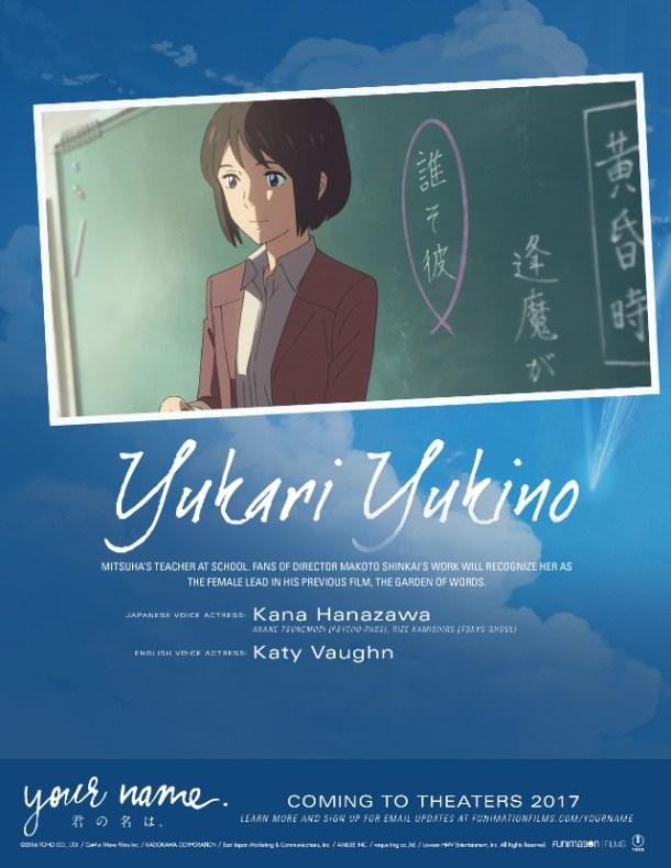 Your Name | Yukari Yukino