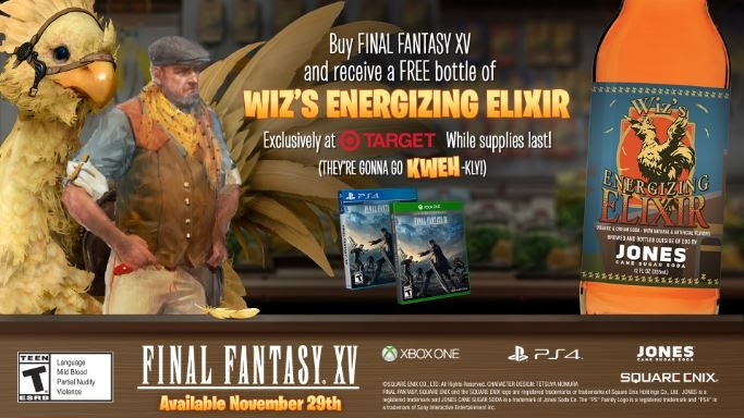 Final Fantasy XV | Wiz's Energizing Elixir