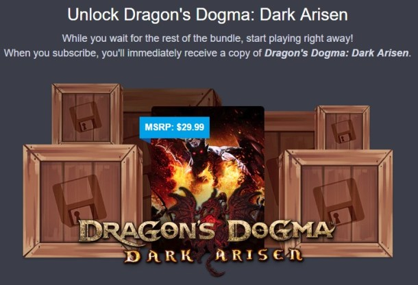 pricefall   humble monthly dragons dogma