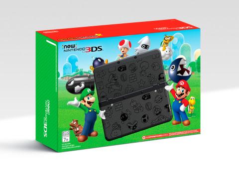 new 3DS mario