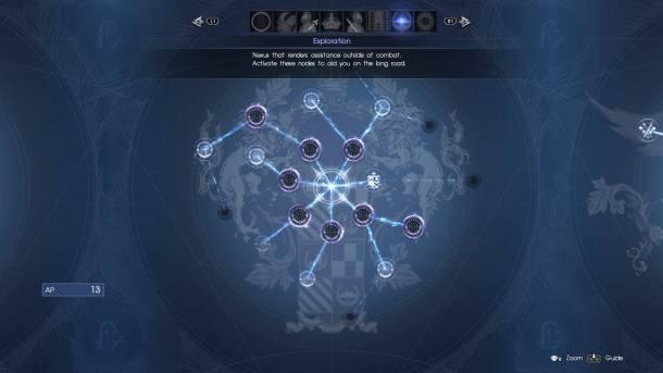 Final Fantasy XV   Exploration Grid
