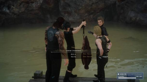Final Fantasy XV | Fishing