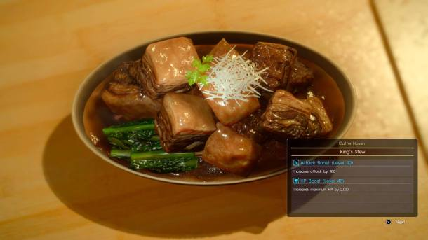 Final Fantasy XV   Food Porn