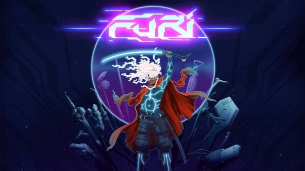 Furi Title Screen