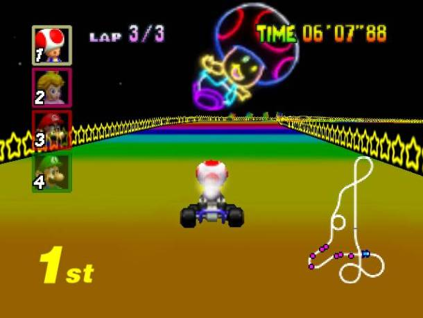 Nintendo Download | Rainbow Road Terror
