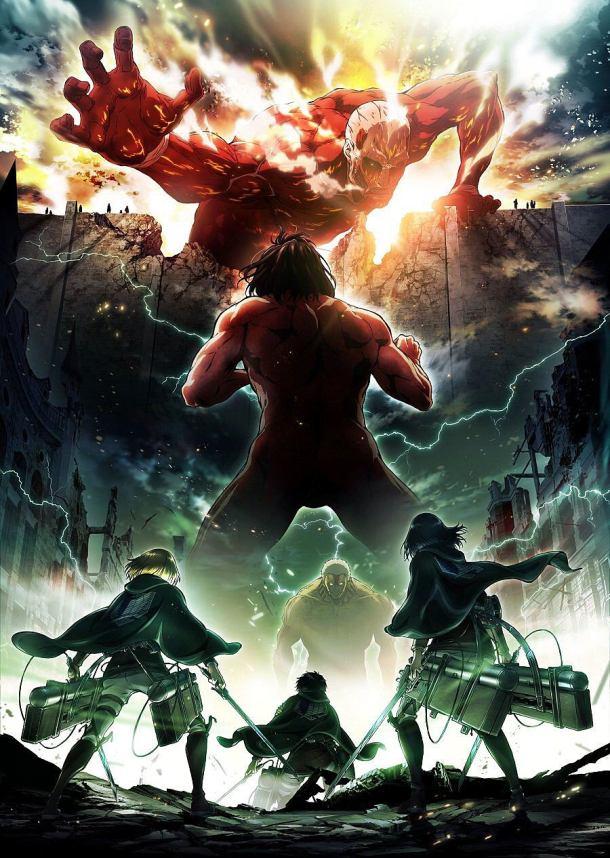 Attack on Titan | S2 Key Visual