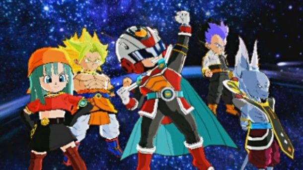 Dragon Ball Fusions | Fused Team