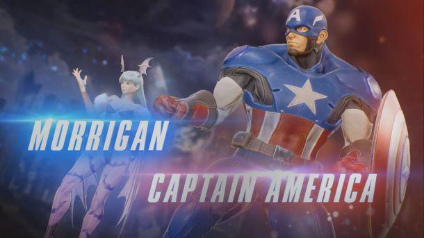 Marvel Vs Capcom Infinite | Morrigan + Captain America