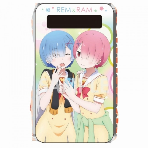 Re:ZERO | Rem and Ram Mobile Battery