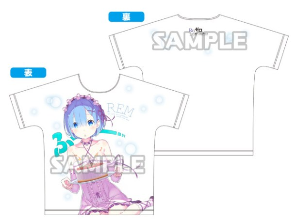 Re:ZERO | Rem Full Graphic T-Shirt
