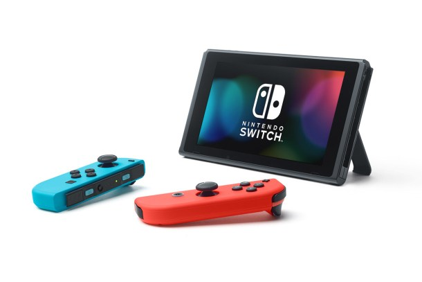 Joy-Cons and Switch (Tablet Mode)