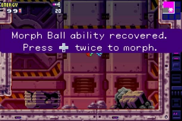 Metroid Fusion   Morph Ball