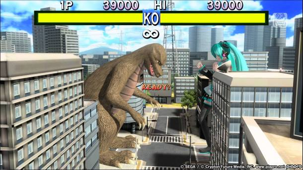 Project Diva Future Tone | Miku Godzilla