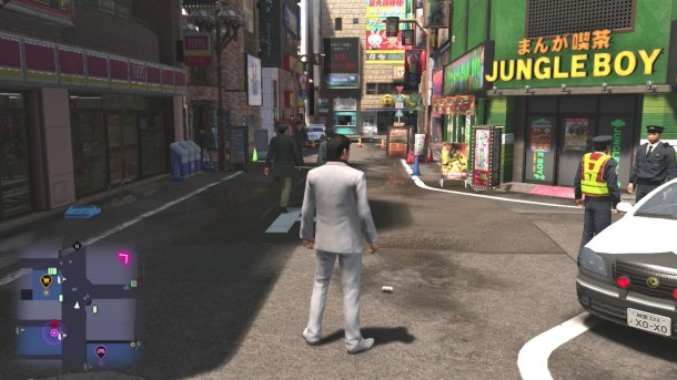 Yakuza 6 | Kiryu arriving in Kamurocho once again