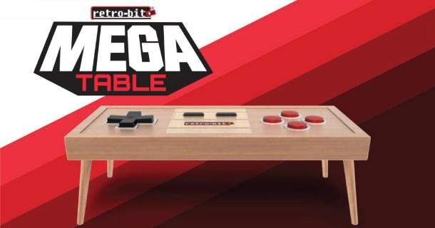 Retro-Bit Mega Table