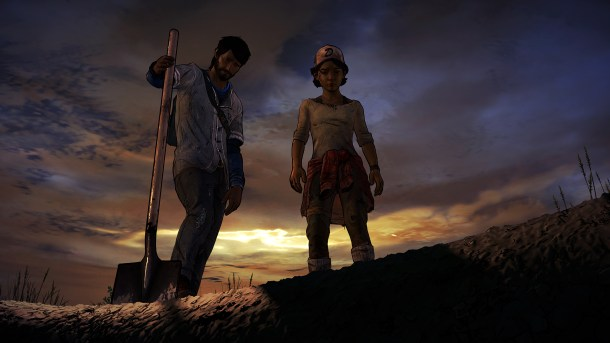 The Walking Dead   Burial