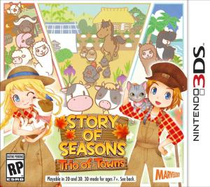 Story of Seasons: Trio of Towns Cover Photo