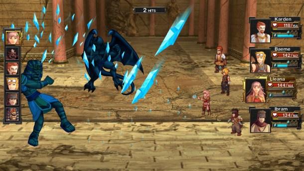 Arelite Core | A typical battle