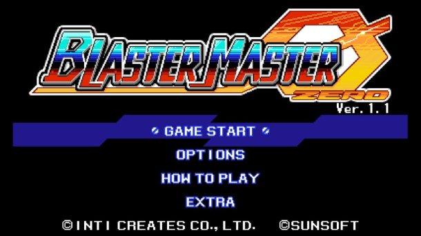 Blaster Master Zero | Logo