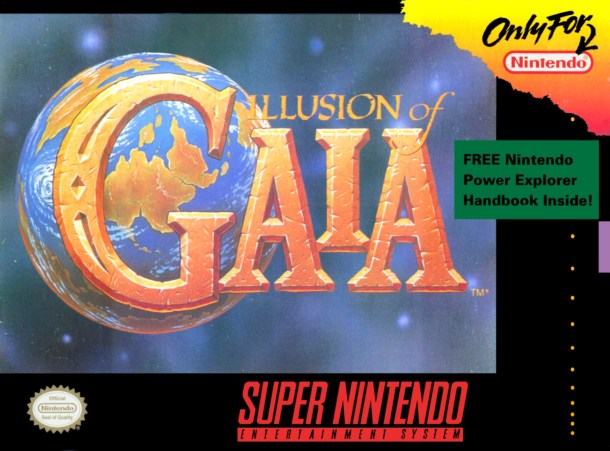 Illusion of Gaia | Boxart