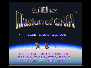 Illusion of Gaia | beta opening