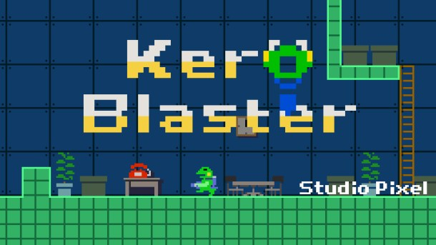 Kero Blaster | Title Screen